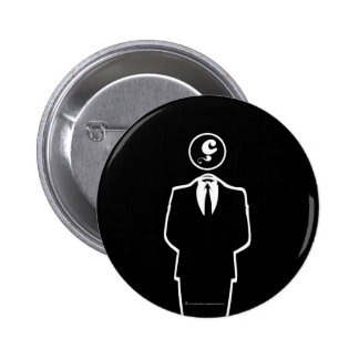 Anonymous/los Anzuelos Objetivos/Insignia Pin