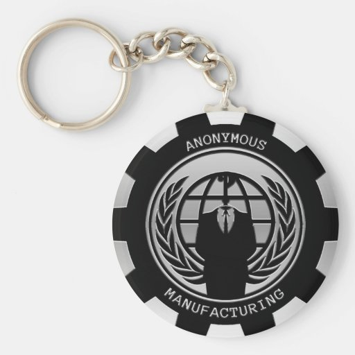 Anonymous Manafacturing Key Chains