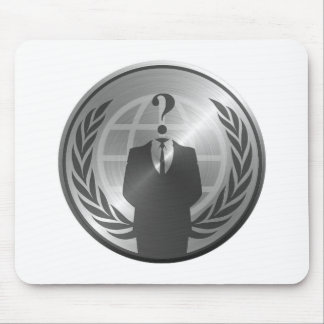 Anonymous Manufacturing Metalic Mouse Pad