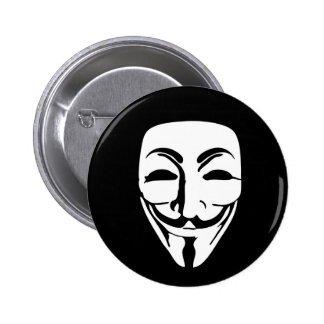 ANONYMOUS MASK 2 INCH ROUND BUTTON
