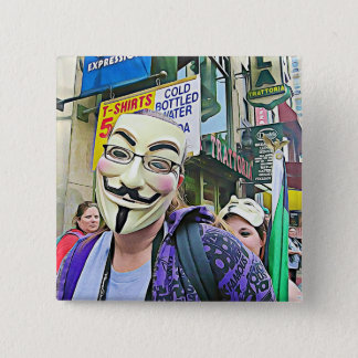 Anonymous Mask Button