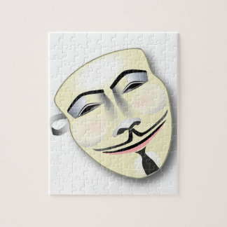 Anonymous Mask Jigsaw Puzzle