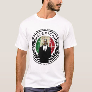Anonymous Mexico T-Shirt