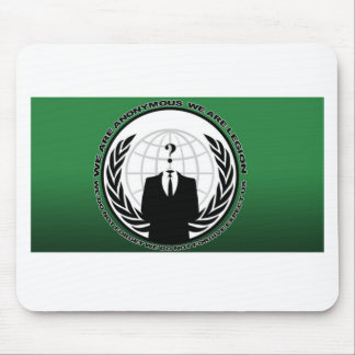 anonymous mouse pad