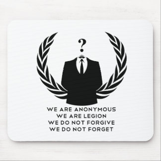 Anonymous Mousepads
