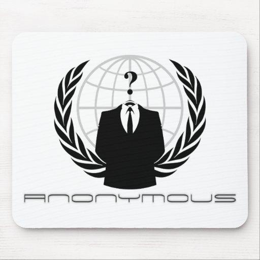 Anonymous Mousepad white