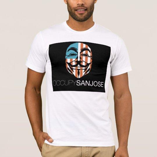 Anonymous Occupy San Jose T-Shirt