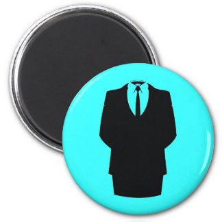 #anonymous ops 2 inch round magnet