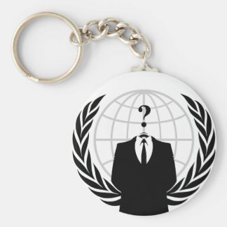 Anonymous Patriotism Keychain