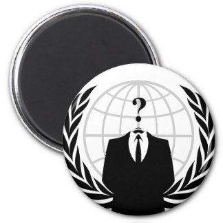 Anonymous Patriotism Magnet