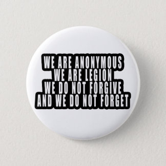 ANONYMOUS PINBACK BUTTON