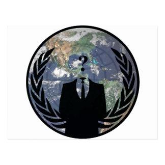 Anonymous Postcard