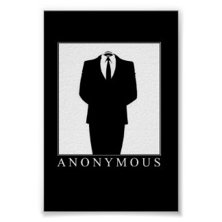 Anonymous(Poster)Words Poster