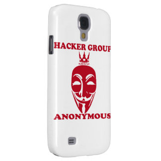 Anonymous (red) samsung galaxy s4 cover