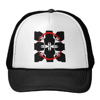Anonymous ring mesh hat
