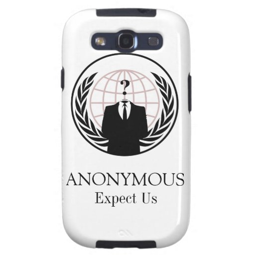 ANONYMOUS SAMSUNG GALAXY SIII COVERS