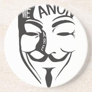 Anonymous Sandstone Coaster