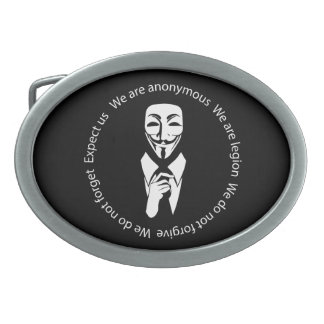 Anonymous seal belt buckle