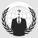 Anonymous Seal / Logo Sticker