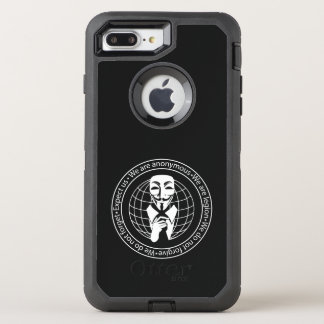 Anonymous seal OtterBox defender iPhone 8 plus/7 plus case