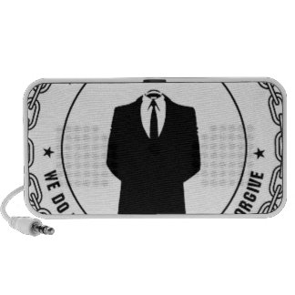 anonymous seal portable speakers