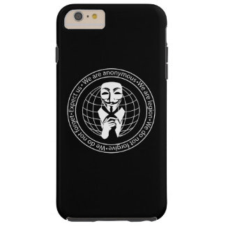 Anonymous seal tough iPhone 6 plus case