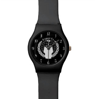 Anonymous seal wristwatch