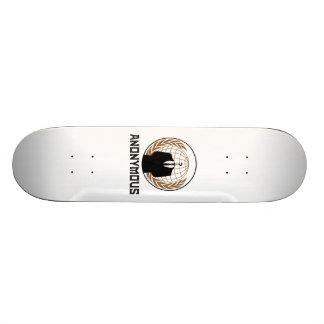 Anonymous Skateboard