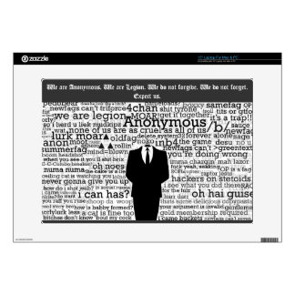 Anonymous Skin For Laptop Decal For Laptop