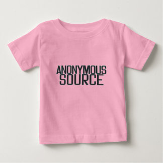 Anonymous Source Baby T-Shirt