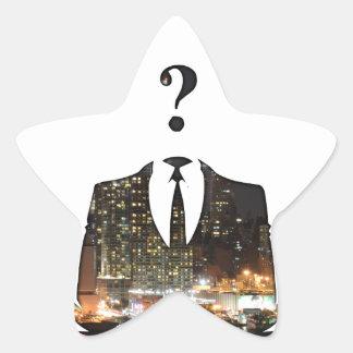 Anonymous Star Sticker
