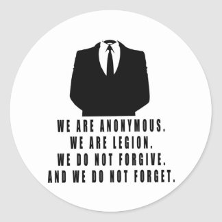 Anonymous Stickers