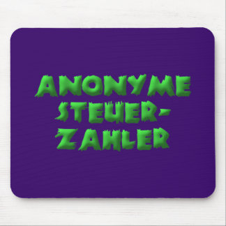 Anonymous taxpayers mouse pad