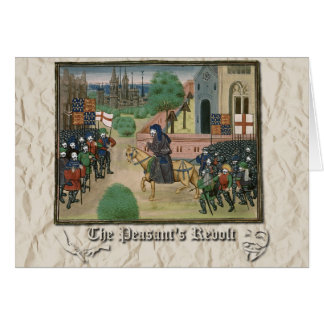 Anonymous: The Peasants' Revolt Greeting Card