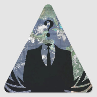 Anonymous Triangle Sticker