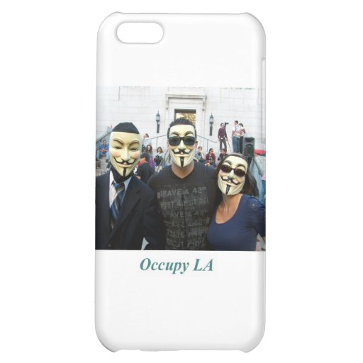 Anonymous Trio Day7 Occupy LA iPhone 5C Covers