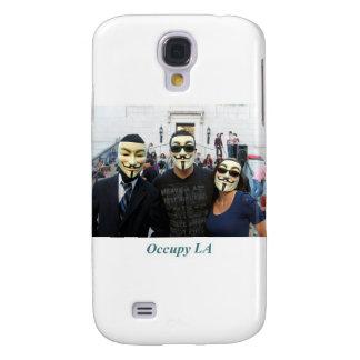 Anonymous Trio Day7 Occupy LA Samsung Galaxy S4 Cover