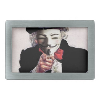 Anonymous wants YOU Belt Buckle