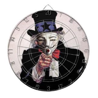 Anonymous wants YOU Dart Board