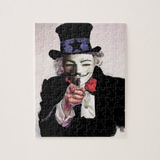 Anonymous wants YOU Jigsaw Puzzles