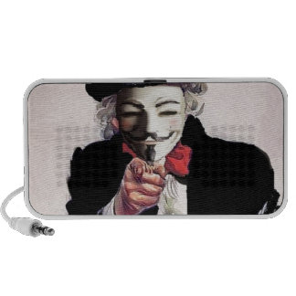 Anonymous wants YOU Mp3 Speakers