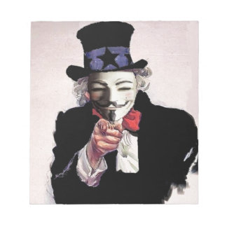 Anonymous wants YOU Notepad