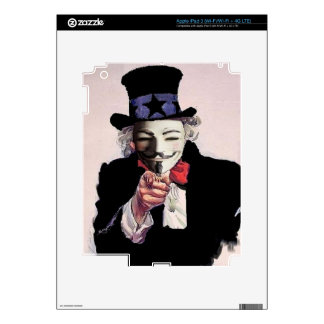 Anonymous wants YOU Skin For iPad 3
