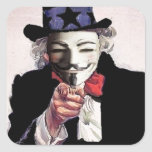 Anonymous wants YOU Stickers