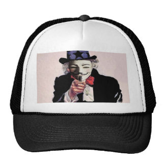 Anonymous wants YOU Trucker Hat