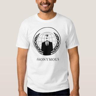 ANONYMOUS? (White) T-shirt