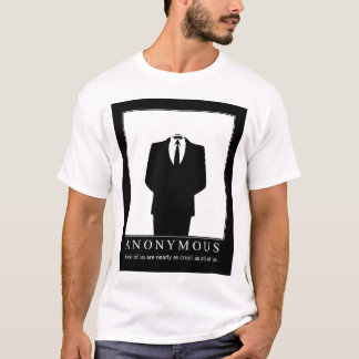 Anonymous - Wikileaks Defenders T-Shirt
