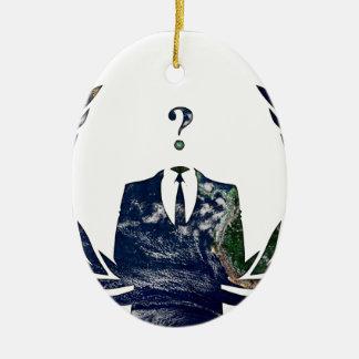 Marvelous Anonymous Worldwide Ornaments Keepsake Ornaments Zazzle Easy Diy Christmas Decorations Tissureus