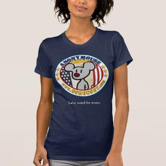 Anonymouse 2012 - Presidencial para las señoras Camiseta