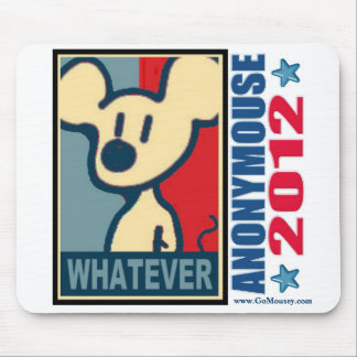 Anonymouse Mousepad 2012